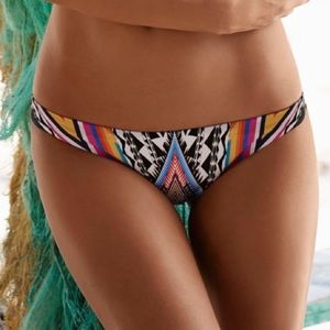 Pilyq Swim - PilyQ Inca Tribal Basic Trent Swim Bottom